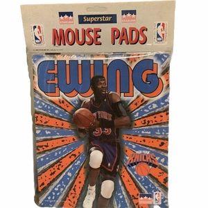 Vintage 1998 Patrick Ewing NY KNICKS Mouse pad